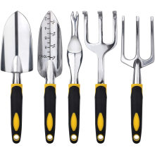 5 PCS heavy duty gardening hand tools kit