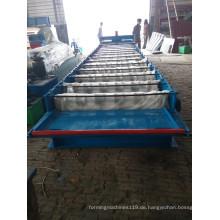 Farbkaltstahldach-Blatt-Rolle, die Maschine hergestellt in China bildet