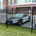 Front Yard Used Tubular Steel Wrought Iron Fence
