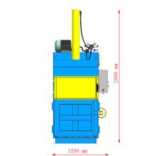 waste paper plastic PET bottle baling machine