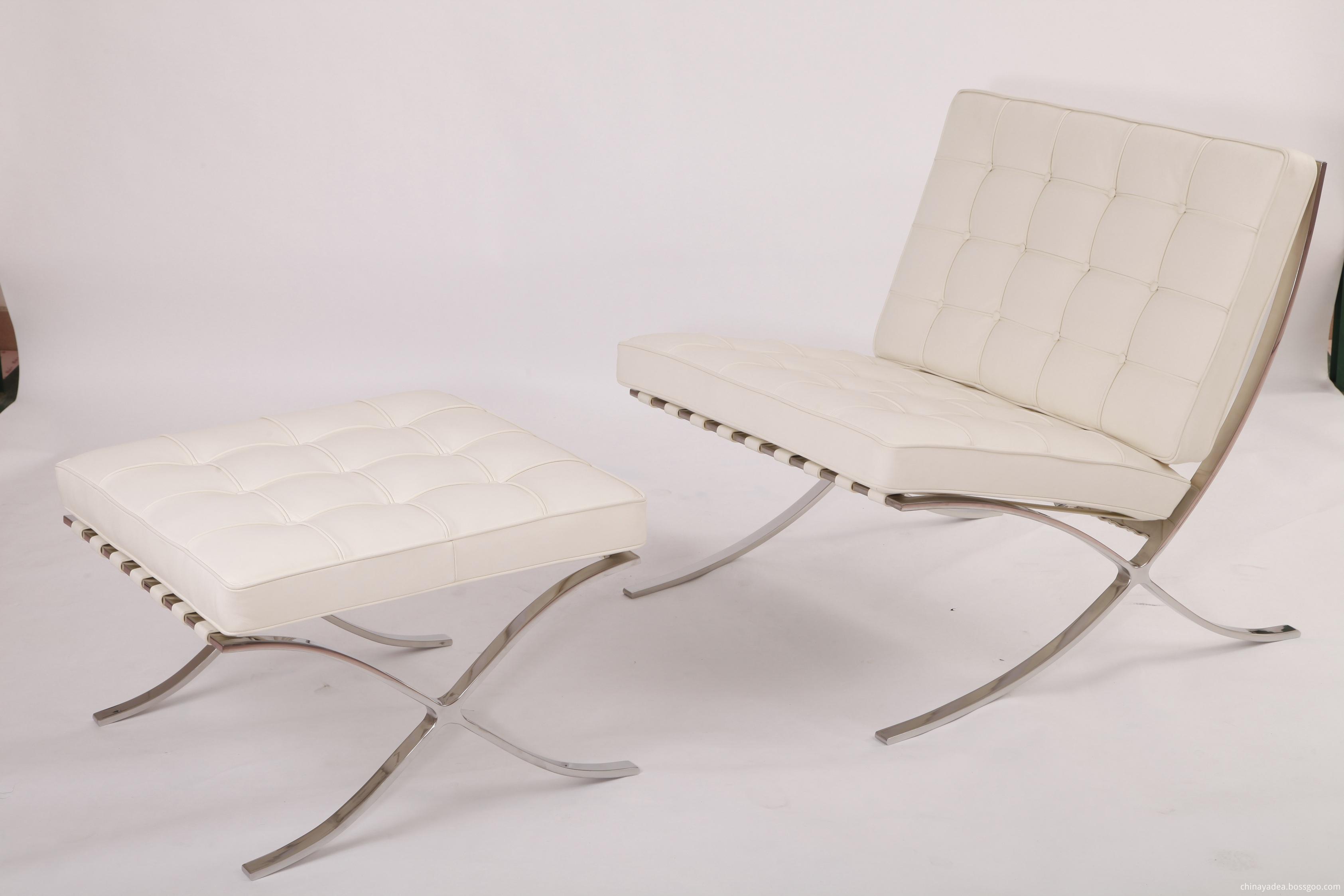 white aniline leather