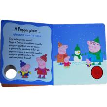 Подгонянный шарж книга в твердой обложке книги для детей