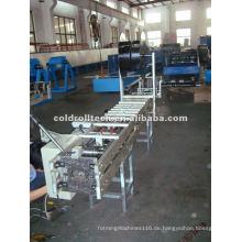 Quadratisches Rohr, das Maschine herstellt