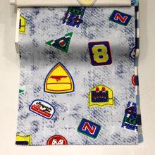 Tissu élastique Spandex imprimé pour pantalons