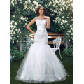 2017 Applique Charming mermaid Lace Wedding Dress MW985
