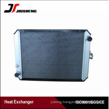 Customized Design Aluminum Excavator Radiator For Hyundai