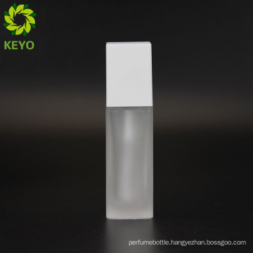 Fancy soap foam boston opaque15ML 20ML 30ML 40 ML empty glass bottle for cosmetic oils