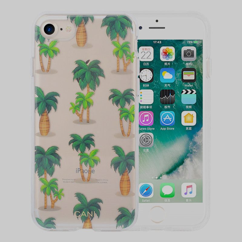 Transparent Hybird iPhone6s Plus Cover