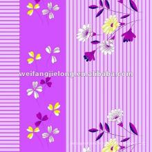 tissu de polyester imprimé pour des draps polyester terylene tissu Imprimé polyester / Terylene pour feuille terylene tissu