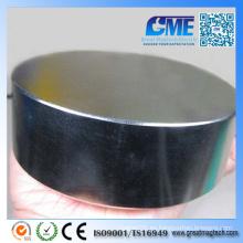 Imán de disco de neodimio de la tierra rara N1 de D120X40mm