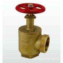 21/2'' Brass chrome ball valve for fire fighting
