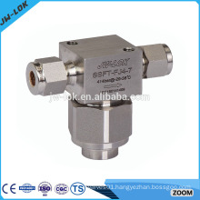 Stainless steel precision manual valve filters