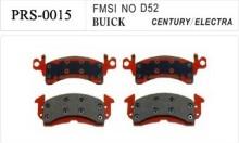 Semi-metallic China wholesale brake pad for BUICK