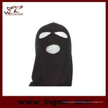 A SWAT Balaclava Hood 3 buraco cabeça enfrenta malha máscara tipo B