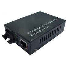 Equipo de comunicación óptica de fibra 10 / 100m Media Converter