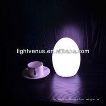 Venta caliente Luz de mesa de huevo