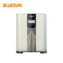 Bluesun híbrido 4000 w 5000 w 220vac mppt inversor de energia solar 48vdc bateria