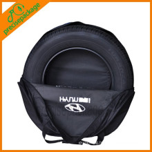 Nylon Durable Promotional spare wheel cover for storage