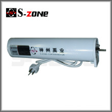 Wireless remote electric curtain track motor for motorized drapery