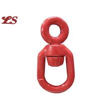 Eslabón de cadena con super aleación de acero
