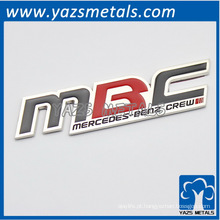 Logotipo do carro MBC latters