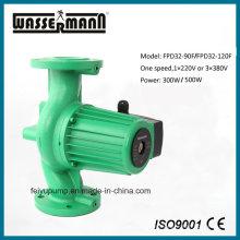 Dn32 puertos de brida, 1 velocidad, bombas de circulación de agua caliente