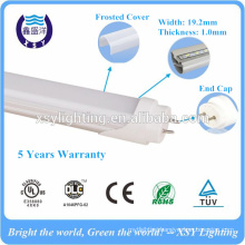 high brightness G13 base 1200mm 18w t8 led tube dlc ul certification