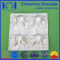 Venta caliente tratamiento del agua uso de la agricultura dióxido de cloro tableta