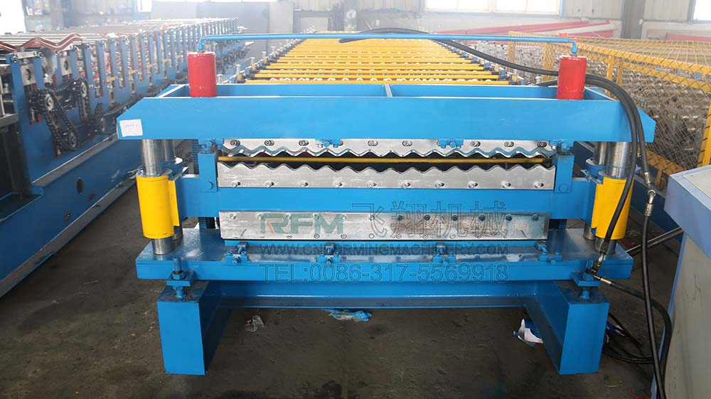 Glalvanized IBR Corrugated Roof Sheet Machine