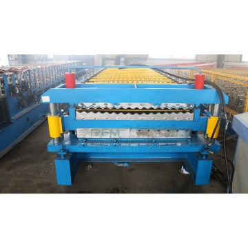 Customized Double Layer Roof Tile Roll Forming Machine