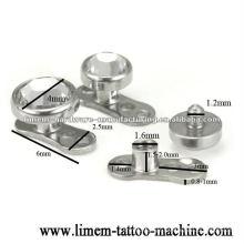 joias piercings de âncora dérmica