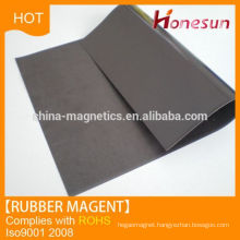 Rubber Magnetic Strip Fridge Magnet Material
