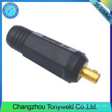 Conector de cable macho de la antorcha de soldadura 35-50mm2