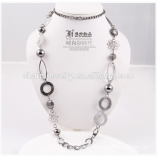 2014 Fashion billige lange Halskette Großhandel Pullover Kette für Dekoration NK001