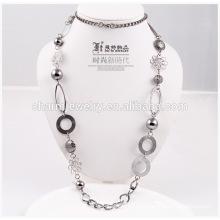 2014 Мода дешево длинный ожерелье оптовая свитер цепи для украшения NK001