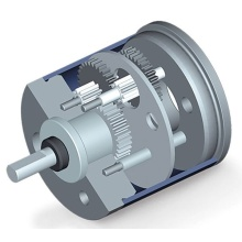 planetary spur gearbox with right angle