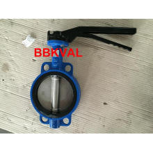 Wafer Butterfly Valve with Eurotype Lever