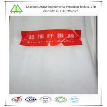 Matelassage de vêtements rempli de remplissage en polyester microfibre