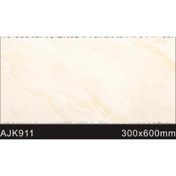 Elegante cuarto de baño de madera mirar los azulejos de pared (ajk911)