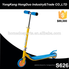 Outdoor fitness frog kick scooter