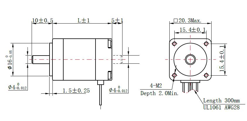 Dimensions NEMA 8