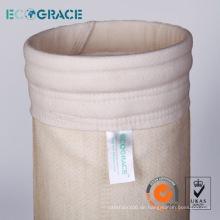 Asphalt Industry 2 Meter Länge Aramid-Staubsammlung Filter Sleeve