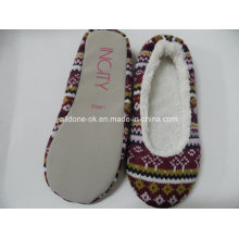 Calzado de punto de calzado de interior Zapatillas de salón de ballet Zapatillas