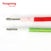 10.0mm2 16.0mm2 25.0mm2 Silicone Fiberglass Braided Wire