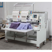 Double heads flat embroidery machine for sale