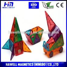 60 peças Set Magnet Building Tiles