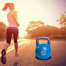 Outdoor Bodybuilding Cast Steel Kettlebell