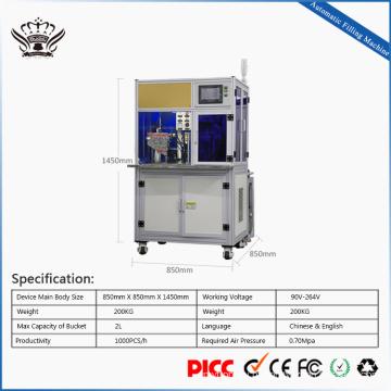 bem-vindo personalizado 510 vazio cartuchos máquina de enchimento