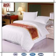 Toutes les tailles disponibles Haute qualité élégante 100% coton Vente en gros Hôtel Motel Literie