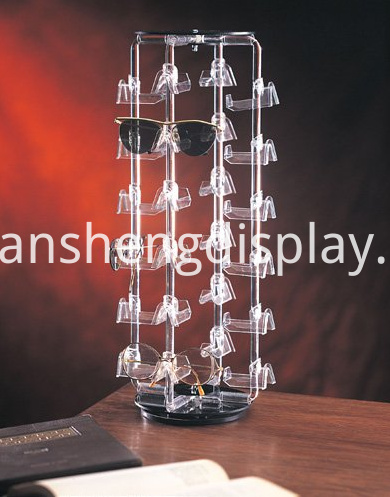 Acrylic Rotating Eyewear Display